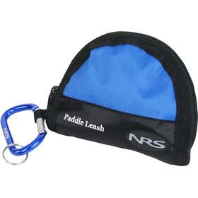 NRS Bungee Paddel Leash blue